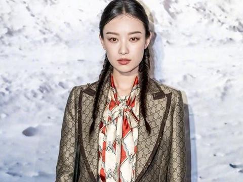 李宇春倪妮打扮时髦出席艺术展