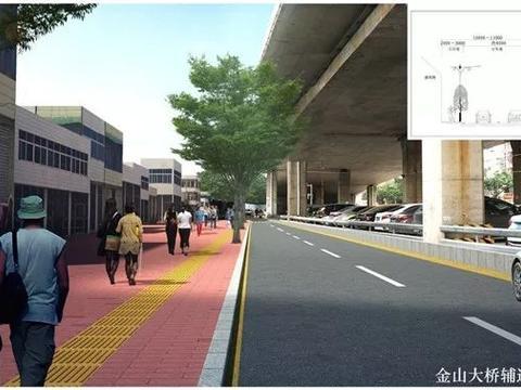 潮州市城区8条主要道路人行道改造提升,昨天起正式进场施工