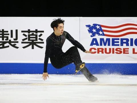 """""""花样滑冰——美国站:中国选手金博洋位列第六名"""""""
