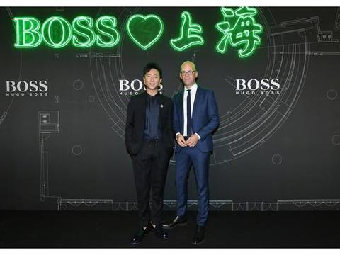 韩庚BOSS上海大秀现场演绎专属BOSS的时尚风潮