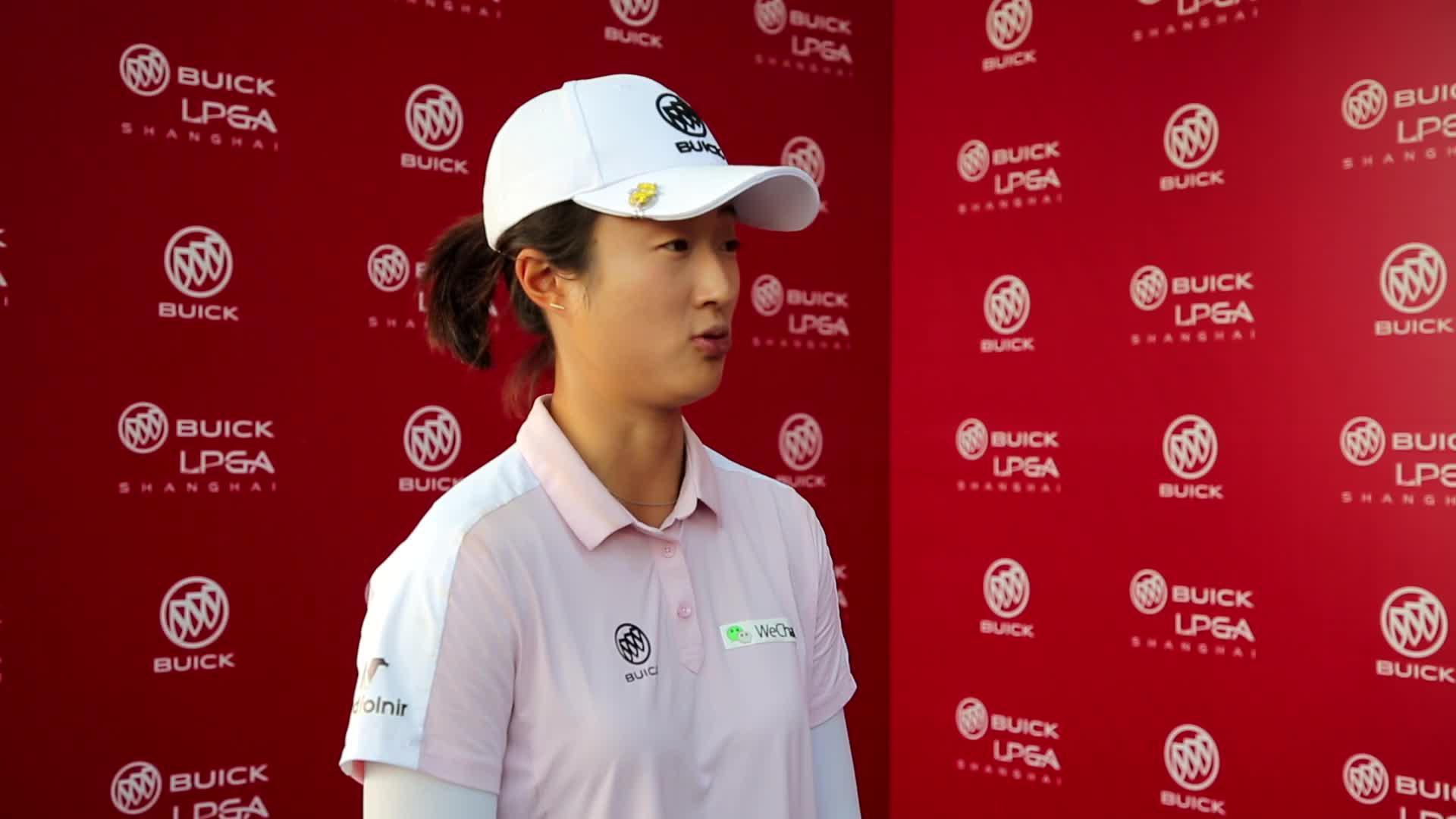 视频-别克LPGA赛刘钰决赛轮65杆T3:结果很满意