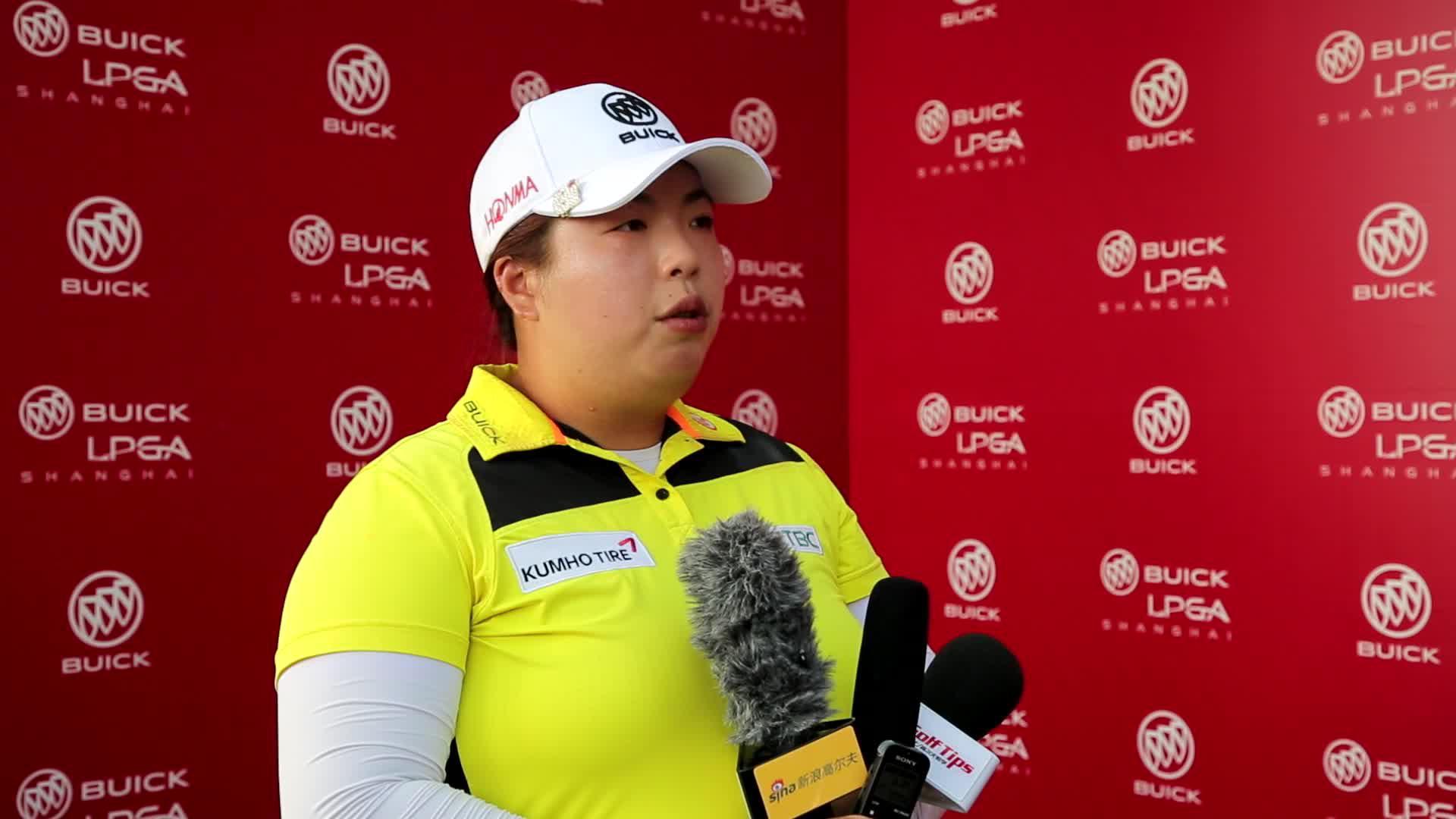 视频-别克LPGA赛冯珊珊T14:虽不完美但已尽力