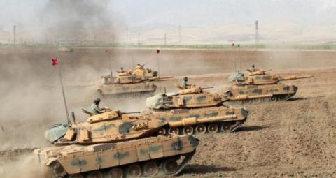 土耳其暂停入侵,库尔德武装开始防范叙军,不许叙军进入核心区域