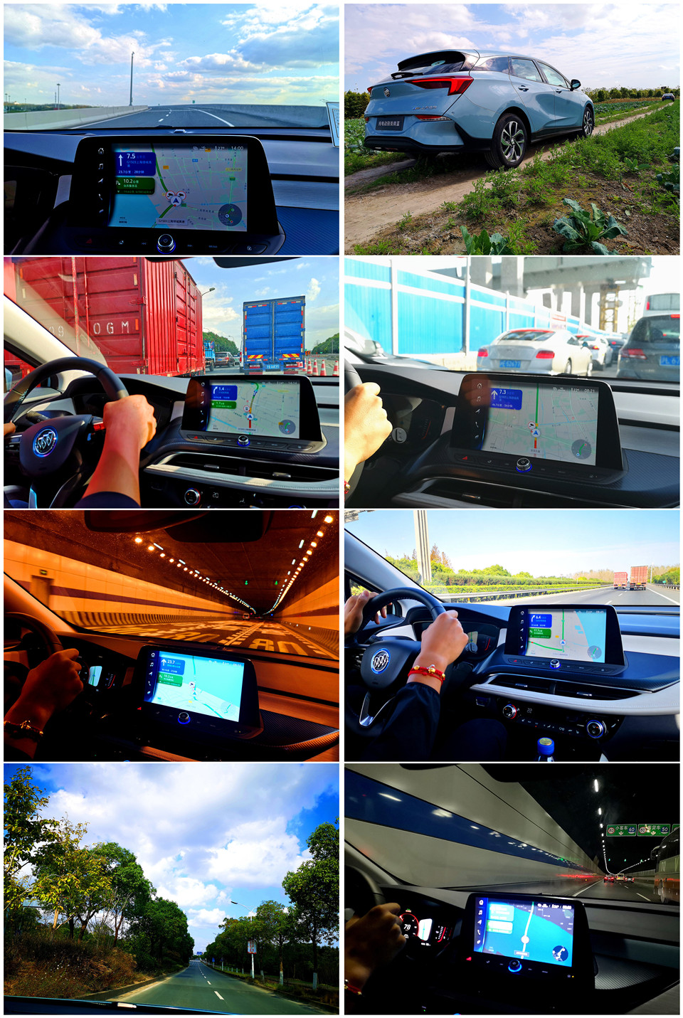 一电试车 | 试驾别克微蓝410版,动力续航升级,能耗下降!