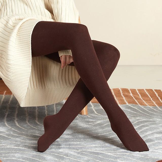 羊绒做的打底袜,显瘦又保暖,80~170斤都能穿