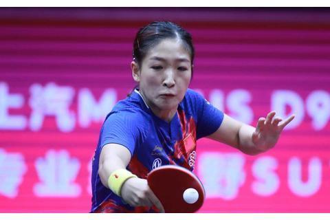 国际乒联狂赞世界杯第一人,刘诗雯赛后说出5个感谢