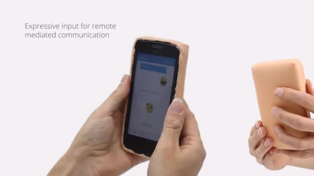 """研究人员开发出逼真似""""人体皮肤""""的手机壳:能情绪交互还会出汗"""