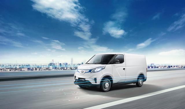 10万起的物流车,载货空间同级最大,上汽MAXUS EV30来了