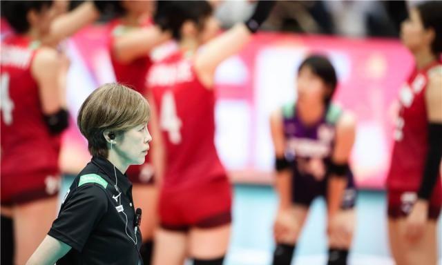 日本女排超级攻手伤愈复出,中田久美笑开花