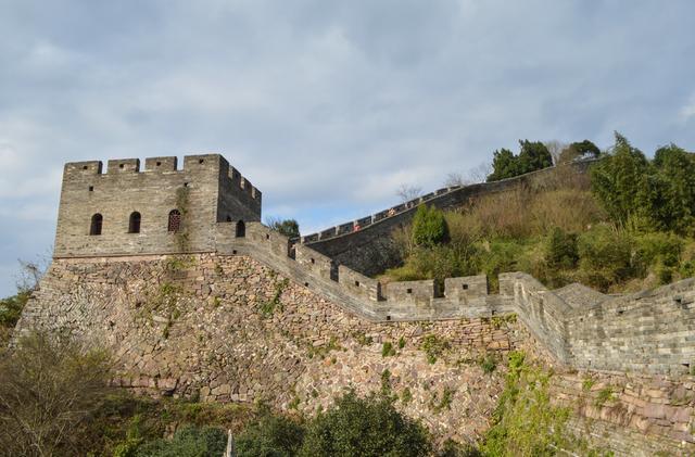 中国古建筑台州府城墙,看明清高超的筑城技术