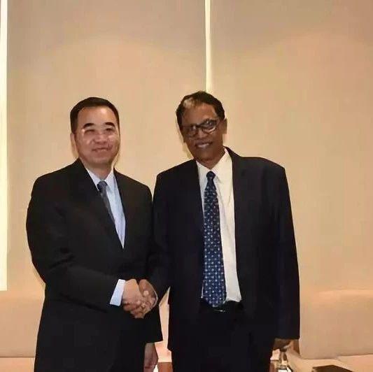 【新闻速递】驻苏丹大使马新民拜会苏过渡政府能源与矿产部长易卜拉欣