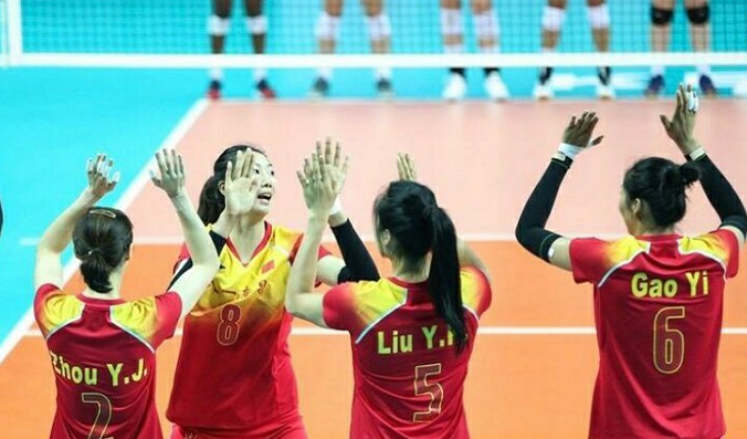 挺进决赛!军运会中国女排3-0击败德国,决赛再度面对巴西队