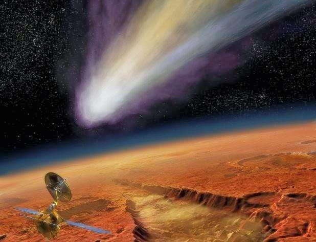 """45亿年前火星海洋为什么莫名消失?彗星和太阳风是""""嫌疑犯""""?"""