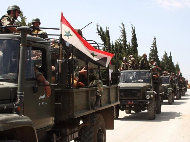 俄叙联军已形成包围圈,要解除6万库尔德武装:绝不重蹈美国覆辙