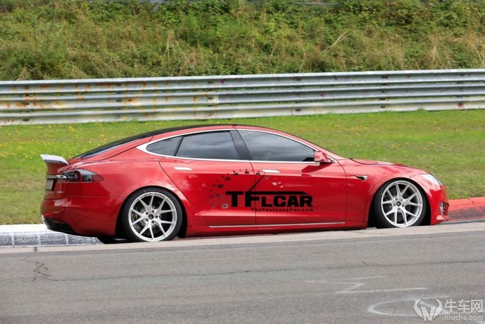 较劲保时捷Taycan 特斯拉Model S再刷纽北圈速