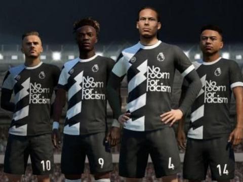 《FIFA 20》推出特别版虚拟球衣:主要是为反种族歧视