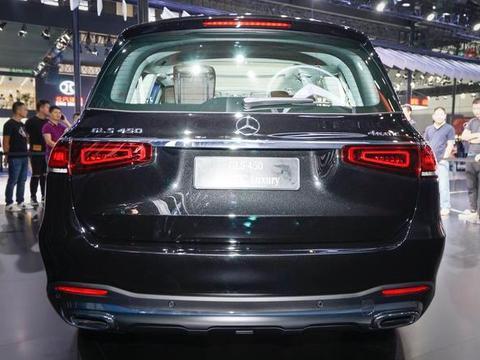 2019成都车展,全新奔驰GLS国内亮相,宝马X7的对手来了