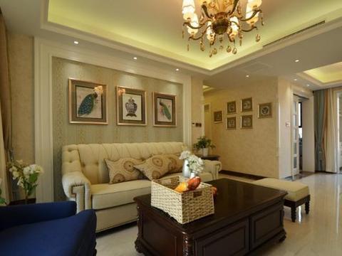 新美式房子装修,花费了30万,装修效果让家里人赞不绝口,真高兴