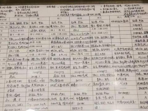 看看清华学生的作息时间表,你就明白为什么他们能考上名校了!