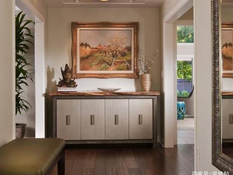 如何把入户玄关设计出亮点?6种装修方案,美观兼实用