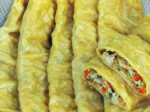 """安徽""""菜馍""""做法:营养美味,比包子油条还好吃,连南方人都爱吃"""