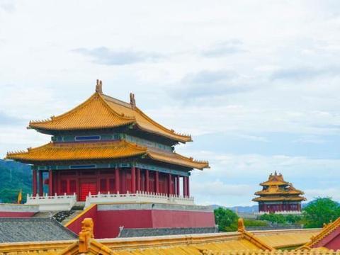 """中国最强的""""山寨""""景区,完全按照故宫仿造"""