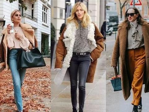 羊羔毛外套怎么搭配好看?乱穿显腰粗又显矮!
