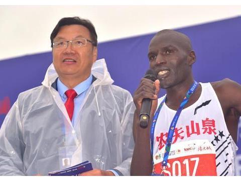 肯尼亚选手包揽男子全马前三名 2019西安国际马拉松赛鸣枪开跑