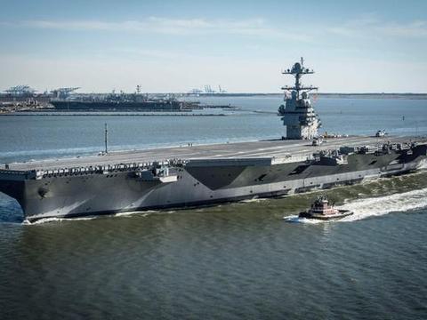 福特级航母编队:舰载机日打击目标1300个,一次可毁灭一中等国家