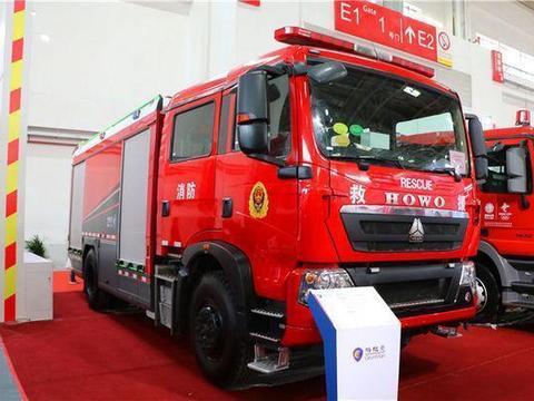 大范围应用于消防领域!中国重汽豪沃发力专用车底盘市场
