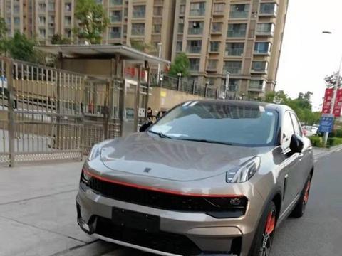 领克05无伪实车曝光!将于2020北京车展正式发布