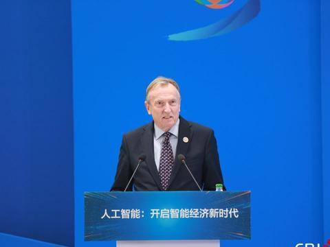 国际电信联盟副秘书长马尔科姆·琼森致辞
