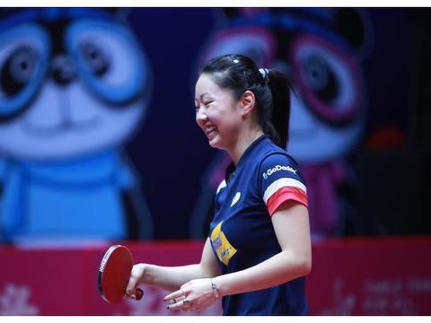 乒乓球世界杯-持外卡战胜平野美宇进入四强的黑马美国华裔张安