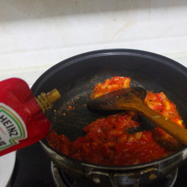 夏天最馋它,茄汁花椰菜,怎么也吃不腻,多吃减肥哦