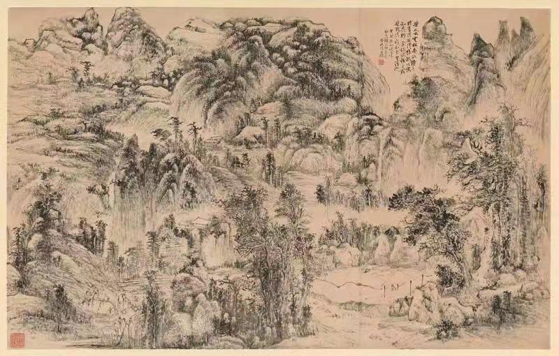 得自蒲团——画僧懒悟的笔墨禅境将于11月6日即将亮相中国美术馆
