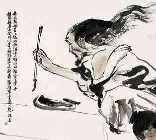 洒脱豁达的书法家张旭:嗜酒如狂,下笔如神