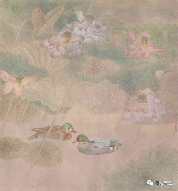 花径漫步——江宏伟工笔画展