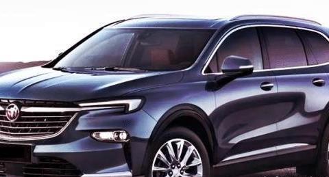 上汽通用别克全新SUV官图正式亮相,新车比奥迪Q7霸气!