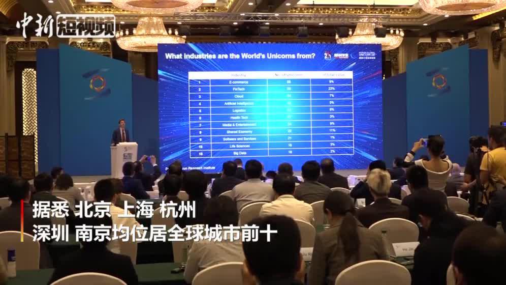 胡润全球独角兽榜:206家中国企业上榜 超过美国