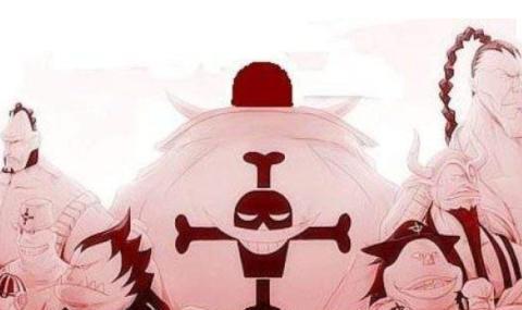 《海贼王》中,当初四皇最强的白胡子,为何现在看上去是最弱的?