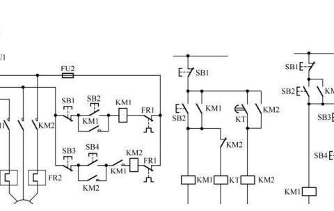 教你如何识读电动机顺序控制电路