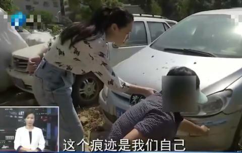 """爱车被当成""""僵尸车""""拖走,受损严重,书记:公共区域给你停车"""