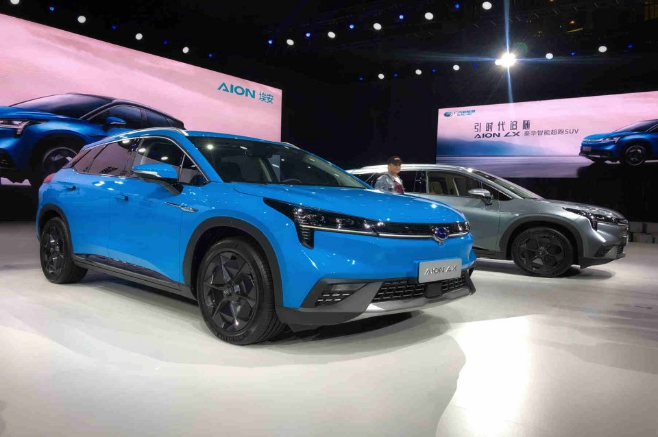 续航650km 广汽新能源Aion LX售价24.96万起
