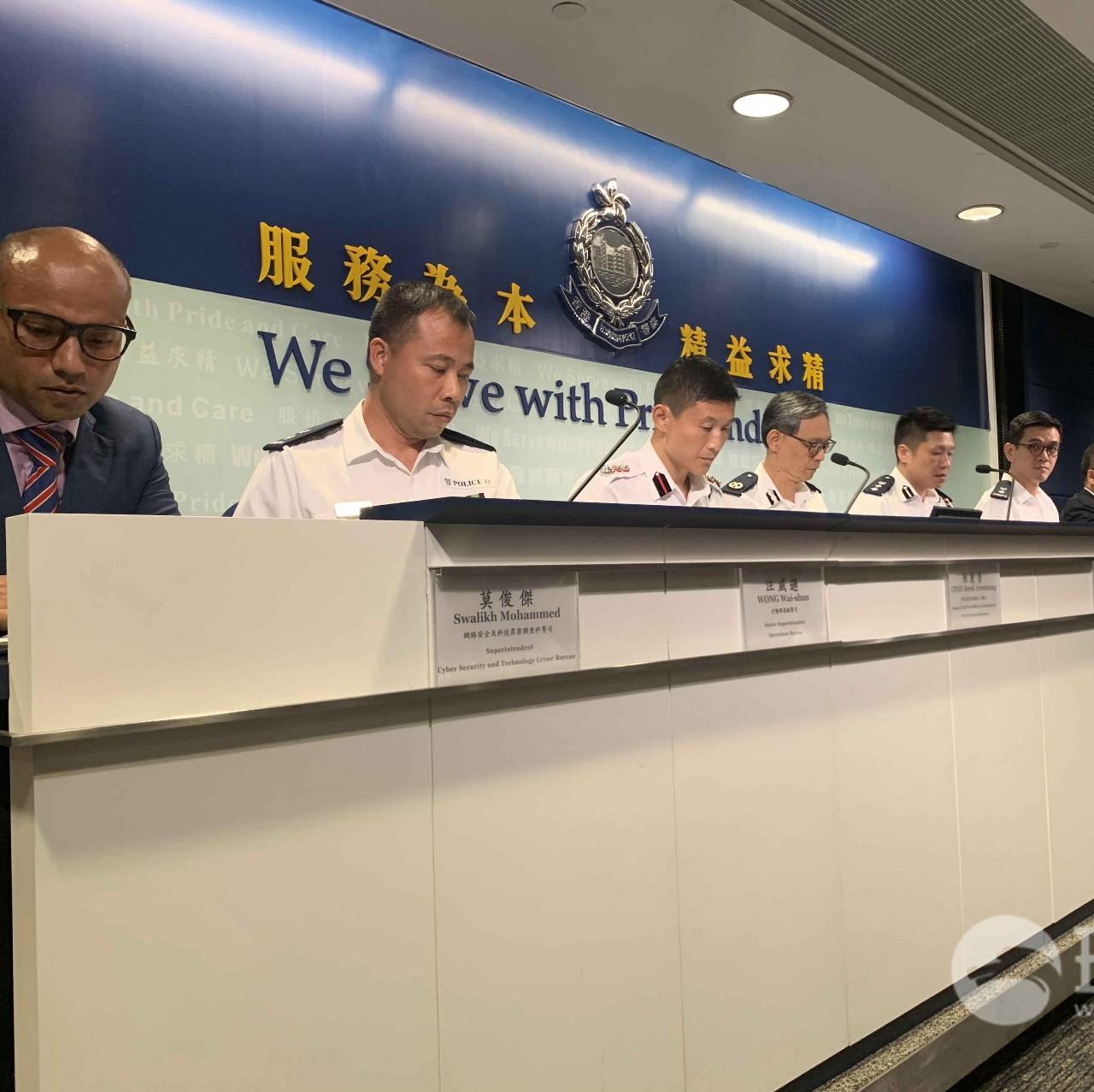 香港警方发现暴徒新动向!