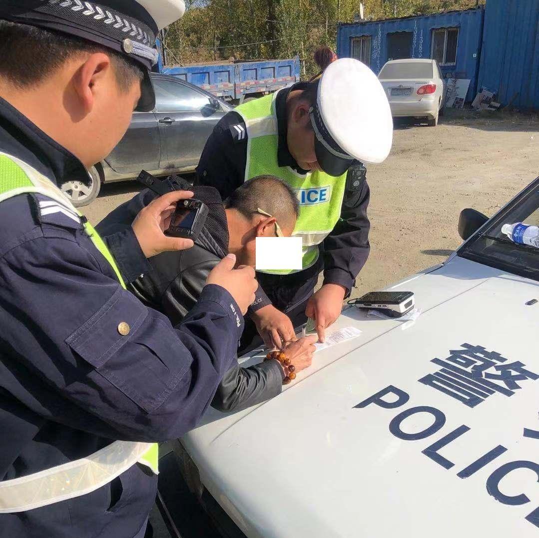 承德兴隆交警查获一起二次饮酒驾驶机动车违法行为