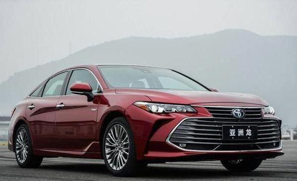 一汽丰田亚洲龙2.0L西安上市,售价19.98万起