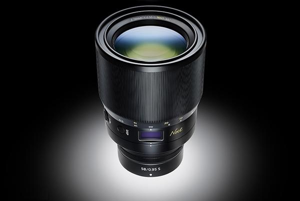 5.7万神头!尼康发布Z卡口手动对焦定焦镜头