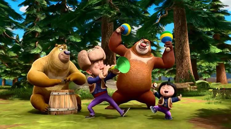 熊出没的主角团一直都在变化,从纳雅到赵琳,下一个是神秘人乐天