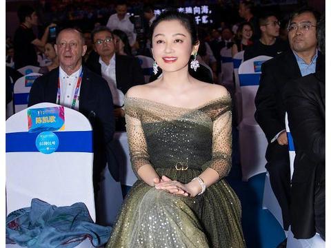 陈凯歌和妻子同出镜,现场照曝光,网友:年龄造假了吧