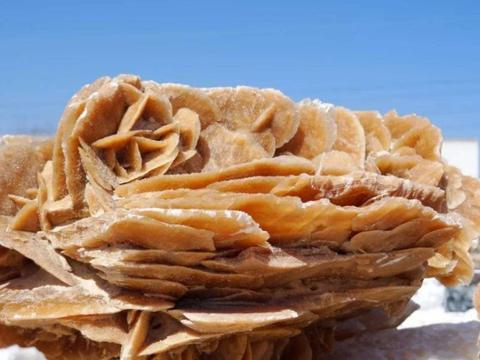 去内蒙和甘肃的沙漠旅游,看到这种石头,千万要记得捡